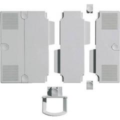 Base di estensione per braccio portatelefono Grigio luminescente 2 pz.