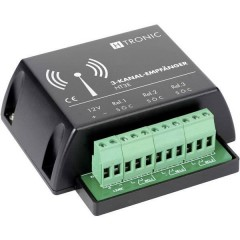 HT3E Ricevitore senza fili 3 canali Frequenza 868.35 MHz 12 V/DC