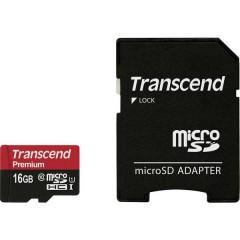 Premium Scheda microSDHC 16 GB Class 10, UHS-I incl. Adattatore SD