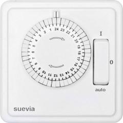 Timer da incasso analogico analogico Giornaliero 1200 W IP20 Programma acceso/auto/spento