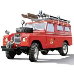 Automodello in kit da costruire Land Rover Fire Truck 1:24