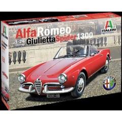 Automodello in kit da costruire Alfa Romeo Giulietta Spider 1300 1:24