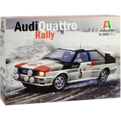 Automodello in kit da costruire Audi Quattro Rally 1:24