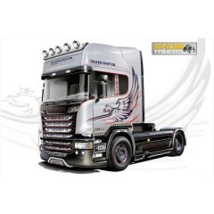 Camion in kit da costruire Scania R730 Streamline 4x2 1:24