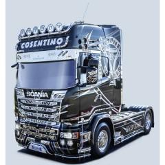 Camion in kit da costruire SCANIA R730 Streamline Show Truck 1:24