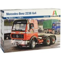 Camion in kit da costruire Mercedes-Benz 2238 6x4 1:24