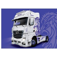 Camion in kit da costruire MB Actros MP4 Show GigaSpace 1:24