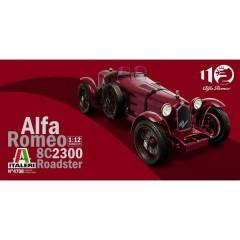 Automodello in kit da costruire Alfa Romeo 8C/2300 1931-33 1:12
