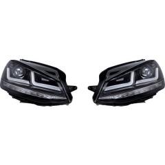 LEDriving® Black Edition Xenonersatz Fanale completo
