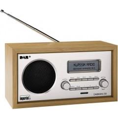 DABMAN 30 Radio da tavolo DAB+, FM Legno