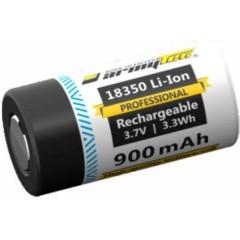 18350 professional Batteria ricaricabile speciale 18350 Li-Ion 3.7 V 880 mAh