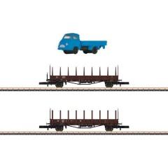 Z Set da 2 pz. vagone a stanti di DB