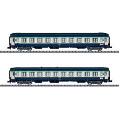 N kit di 2 pz. vagoni treno Orient-Express