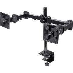 2 vie Supporto da tavolo per monitor 25,4 cm (10) - 61,0 cm (24) Inclinabile, Girevole