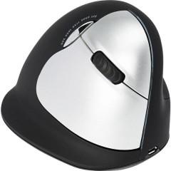 HE () Senza fili, USB Mouse ergonomico Ergonomico, Ricaricabile, Porta USB, Rotella di scorrimento