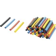 Kit guaine termoretraibili Colorato 3.20 mm Restringimento:2:1 3.2 m