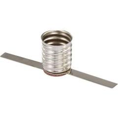 Porta lampada Attacco: E10 Connessione: Linguette a saldare 1 pz.
