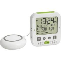 Radiocontrollato Sveglia Bianco, Verde Tempi di allarme 2