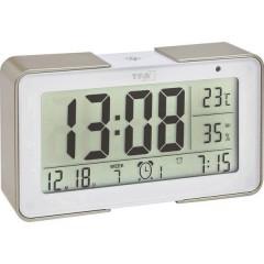 Radiocontrollato Sveglia Oro, Bianco Tempi di allarme 3
