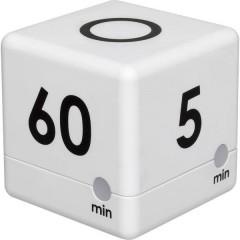 Timer Cube Timer Bianco digitale