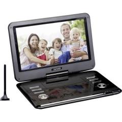 MT-1150T2H TV portatile con lettore DVD 29.2 cm 11.5 pollici ERP: B (A++ - E) Funzionamento a batteria, incl.