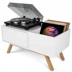 Turntable Lowboard Tavolo DJ mobile MDF