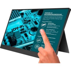 Joy-View 15 Monitor touch screen ERP: A (A - G) 39.6 cm (15.6 pollici) 1920 x 1080 Pixel 16:9 USB-C™, Mini HDMI™,