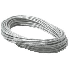 Cavetti Componente per sistema su filo a bassa tensione Trasparente, Grigio