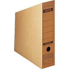 Scatola per archivio 80 mm x 320 mm x 265 mm Cartone ondulato Marrone naturale 1 pz.