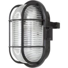 Lampada impermeabile E27 60 W Nero
