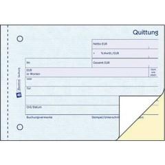 Modulo di ricezione DIN A6 diagonale Numero di fogli: 40 Bianco 80 Foglio