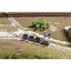 H0f treno da miniera a scartamento ridotto