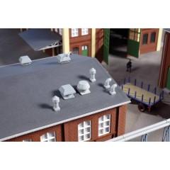 AUHAGEN H0 Camini per il tetto