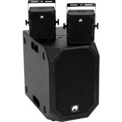 Omnitronic BOB Basic Set 2.1 Kit altoparlanti PA attivi Bluetooth, Mixer incorporato