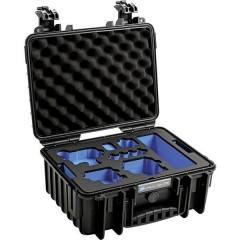 B & W outdoor.cases Typ 3000 Valigetta rigida per fotocamera Misura interna (LxAxP)330 x 150 x 235 mm Impermeabile