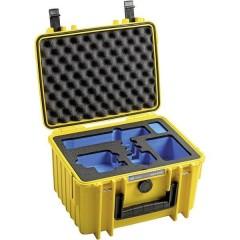 B & W outdoor.cases Typ 2000 Valigetta rigida per fotocamera Misura interna (LxAxP)250 x 155 x 175 mm Impermeabile