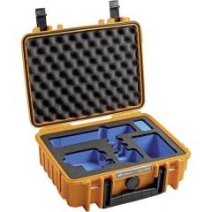 B & W outdoor.cases Typ 1000 Valigetta rigida per fotocamera Misura interna (LxAxP)250 x 95 x 175 mm Impermeabile