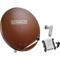 Schwaiger SPI9962SET6 Sistema SAT senza ricevitore Numero utenti: 8 80 cm