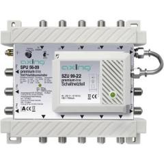 Axing SPU 56-09 SAT multiswitch Ingressi (Multiswitch): 5 (4 satellitare / 1 terrestre) Numero utenti: 6 Funzione