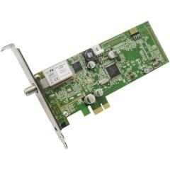 Hauppauge WinTV-Starburst DVB-S (Sat) PCIe-Scheda con telecomando, Funzione di registrazione Numero di sintonizzatori: