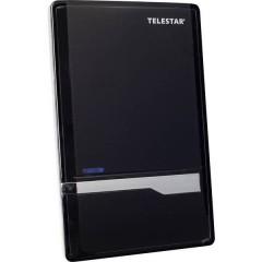 Telestar Antenna 7 LTE Antenna attiva piatta DVB-T/T2 Ambiente interno Guadagno: 35 dB Nero
