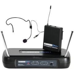 LD Systems ECO 2 ad archetto Kit microfono senza fili Tipo di trasmissione:Senza fili (radio)