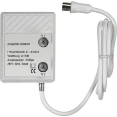 Renkforce Amplificatore per TV via cavo 2 vie 20 dB