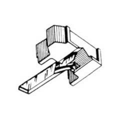 Puntina per giradischi HiFi N 44-7 Disco