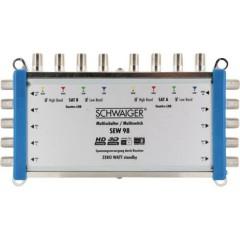 Schwaiger SEW98 531 SAT multiswitch Ingressi (Multiswitch): 9 (8 satellitare / 1 terrestre) Numero utenti: 8 Funzione