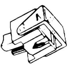 Puntina per giradischi HiFi für Ortofon F/FF/N/NF
