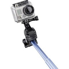 Mantona Handstativ Asta per selfie 8 cm 1/4 pollice Blu incl. Cinturino da polso
