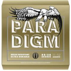 Ernie Ball Corda per chitarra western 2088 Paradigm 80/20 Bronze Light 011-052