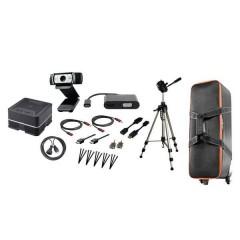 Klassenraum Remote Set Altoparlante per teleconferenza Nero