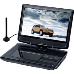 Reflexion DVD1017T2HD TV portatile con lettore DVD 25.4 cm 10 pollici ERP: C (A - G) Funzionamento a batteria, incl.